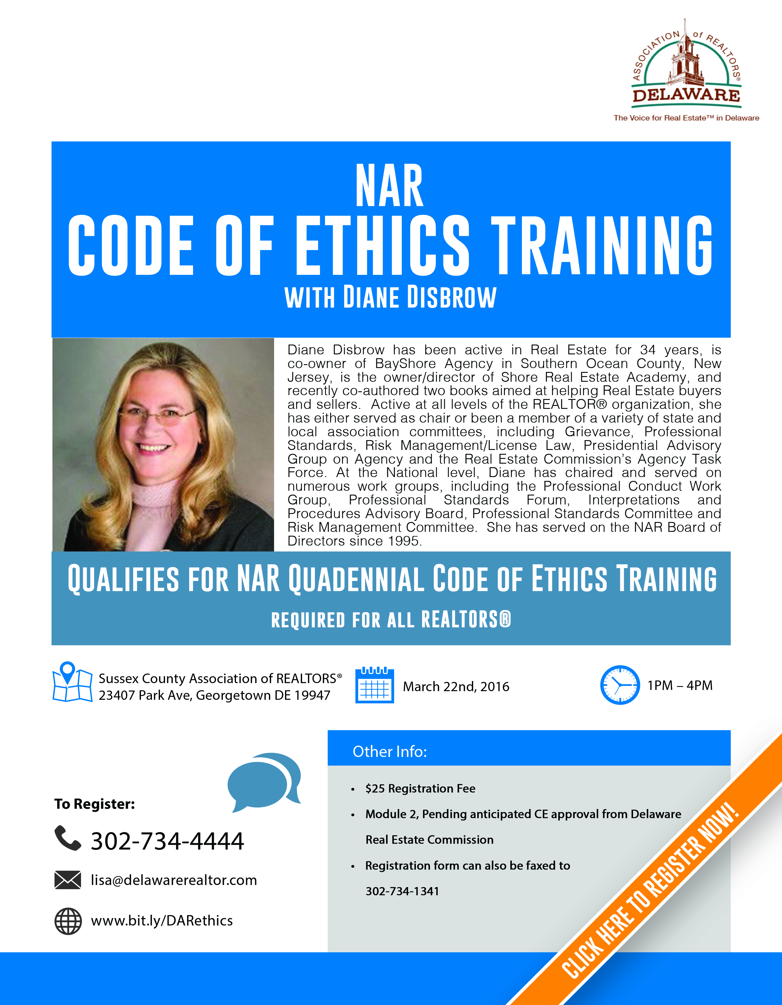 the nar code of ethics Welcome to realtor® code of ethics training realtor® members must complete two and a half (25) hours of ethics training, meeting specific learning objectives and criteria, within two (2) year cycles mandatory ethics training for realtor® members was first established by the nar board of directors at.