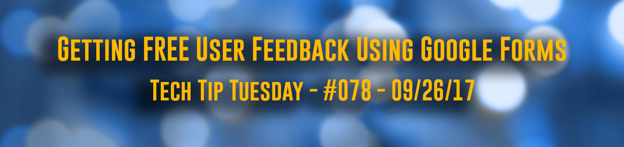 Tech Tip Tuesday - #078