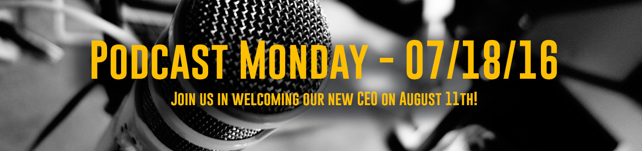 SCAORCAST - Join us in welcomingour new CEO on August 11th!