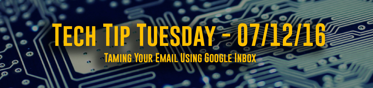 Taming Your Email Using Google Inbox