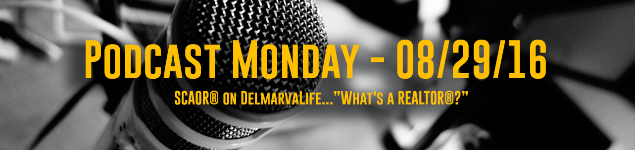 "PSCAORCast - On DelmarvaLife...""What's a REALTOR®?"""