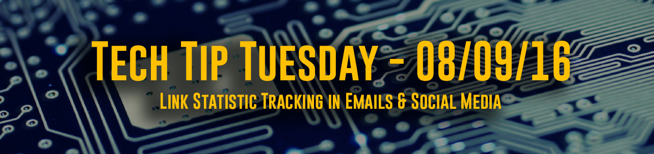 Link Statistic Tracking in Emails & Social Media