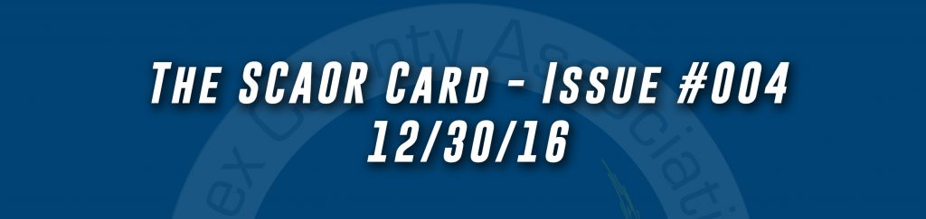 The SCAOR Card - Issue 04