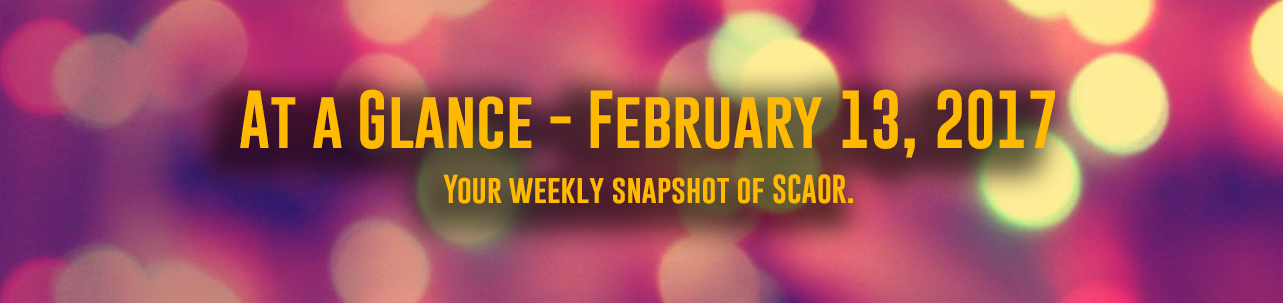 At a Glance - For February 13, 2017