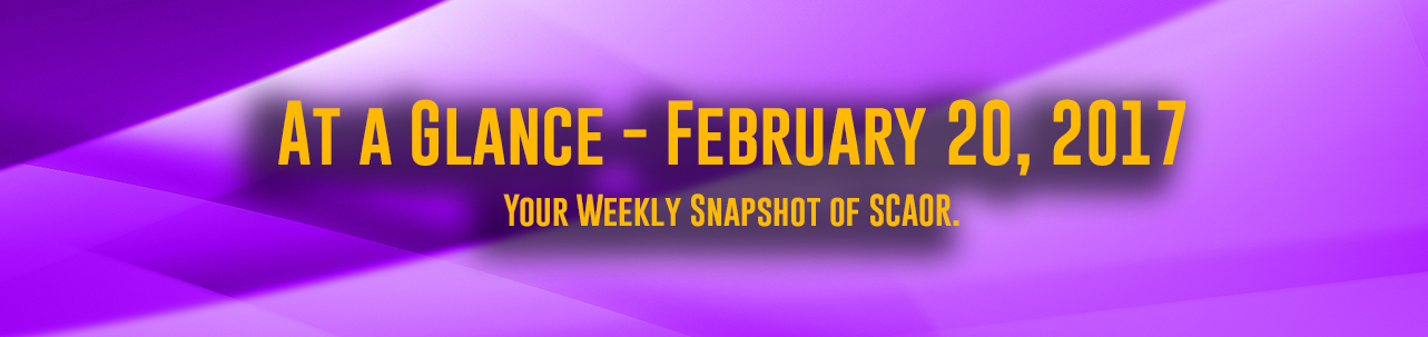 At a Glance - February 20, 2017