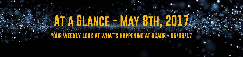 At a Glance - May 8th, 2017