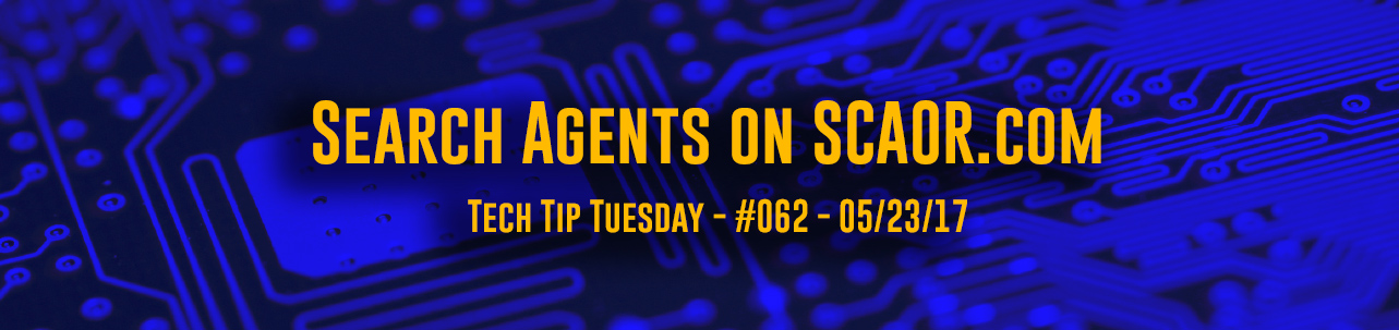 Tech Tip Tuesday - #062 - *NEW* Agent Search in Scaor.com