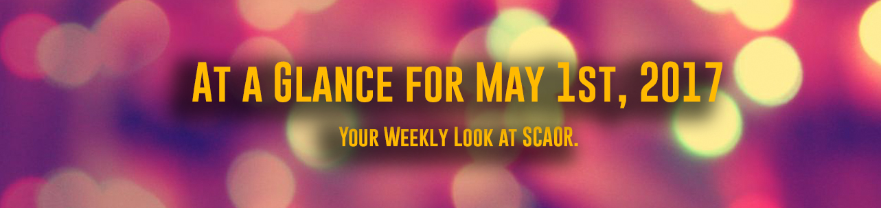 AT a Glance for May 1st, 2017