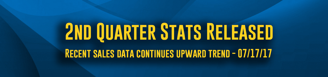 2nd Quarter Stats - Recent sales data continues upward trend in local real estate