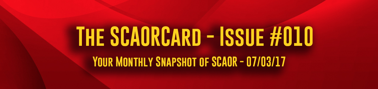 The SCAORCard - Issue #010