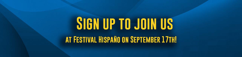 Join SCAOR® at Festival Hispaño!