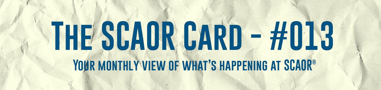 The SCAOR Card 13