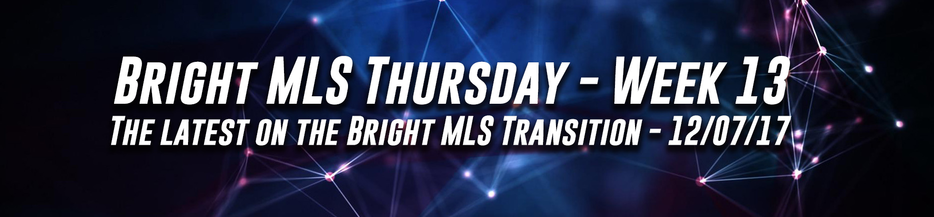 Bright MLS Thursday - Week 13